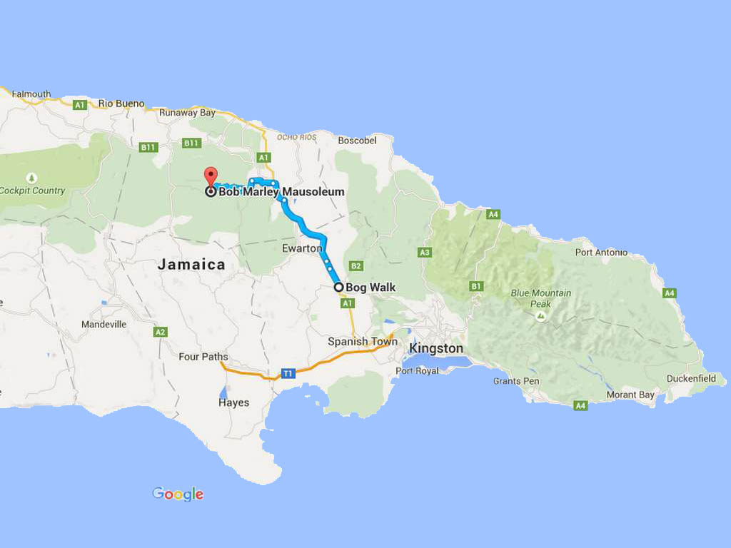 Bob Marley Experience  Tour to Nine Mile Jamaica